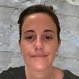 Geóloga Mercedes Zapiola